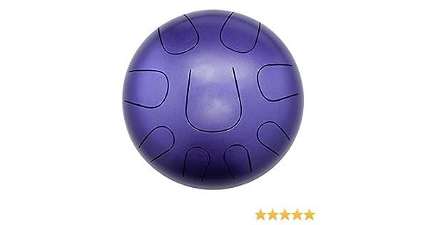 Pearl PMTD9AKB//692 Tongue Drum Pearl 9 note Awakening Series in modo Akebono C Natural Purple Fade