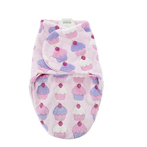 NEU   Wickeldecke Pucksack   rosa Cupcakes   0-3 Monate