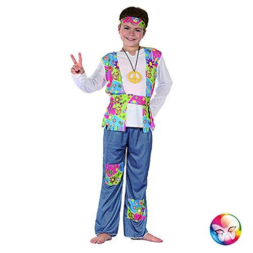 Unbekannt Aptafêtes–cs870639/M–Kostüm für Jungen Hippie–Größe ()