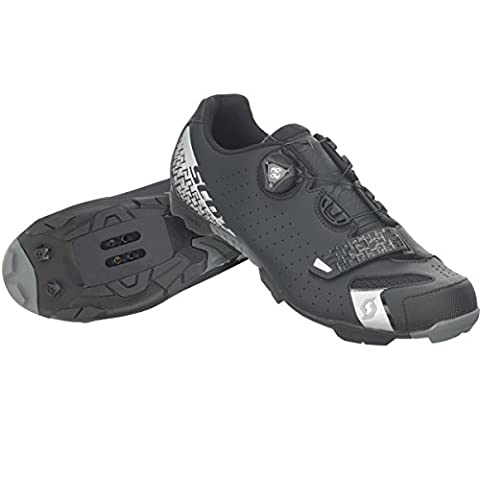 Scott MTB Comp Boa Fahrrad Schuhe schwarz/silber 2017: Größe: 41