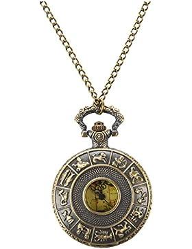SODIAL (R) Retro Australien Halskette Taschenuhr