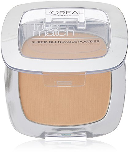 L´Oreal Paris True Match Super-Blendable Powder (5D/5W Golden Sand) 9 g (Match Oreal L Powder True)