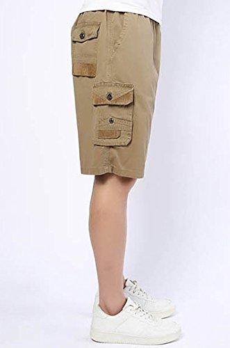 DQQ -  Pantaloncini  - Uomo cachi