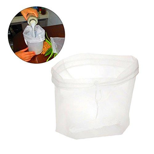 BESTOMZ Nussmilchbeutel - Das vielseitige Passiertuch ideal für Nussmilch, Frucht- und Gemüsesäfte und Smoothies -