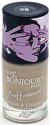 Bonjour Paris Nude Nail Lacquer - Natural Beige, 0.30 Ounce