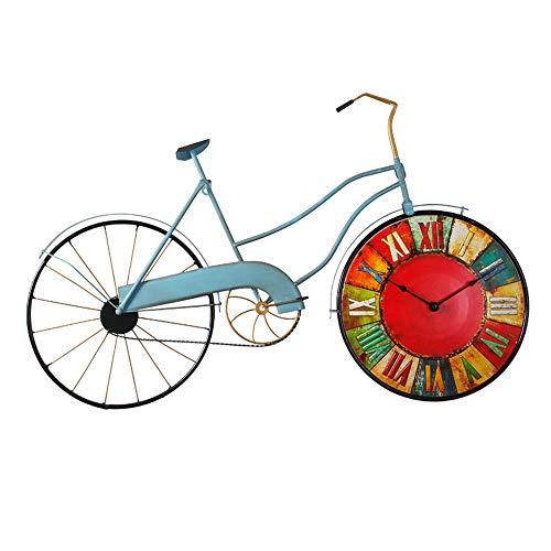 DLJRX Relojes De Pared Reloj De Pared De Bicicleta