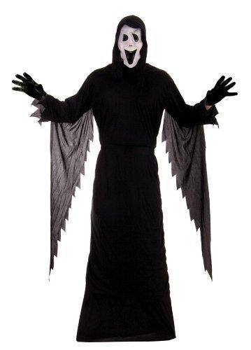 Erwachsene, Demon Ghost Scream Stabby Hallloween Kostüm Maske