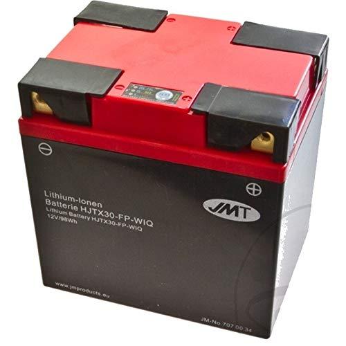 JMT HJTX30-FP Lithium Motorrad Batterie für RZR 800 4 H.O. Baujahr 2011-2012 -