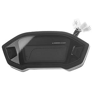 Odometro LCD - TOOGOO(R)Oodometro velocimetro velocimetro calibrador universal de retroiluminacion LCD digital de motocicleta