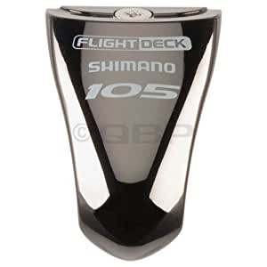 Shimano 105 ST-5600 STI Name Plate & Fixing Screw Black by Shimano
