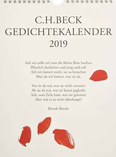 C.H. Beck Gedichtekalender: 2019 (35. Jahrgang)