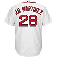 YQSB Personalizada Camiseta Deportiva Baseball Jersey Liga de Beisbol NO.28 Martinez Boston Red Sox,Men-L