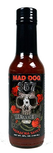 Mad Dog 357 Reaper Sriracha Sauce - Sauce 357 Hot