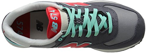 New Balance WL 574 WHC Grey Red Gris