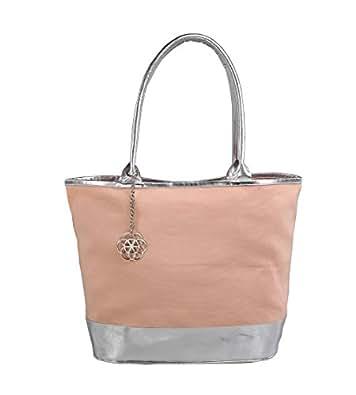 Rishteybags Women's Shoulder Bag (Pink) (PADMA1MakeUpPink)