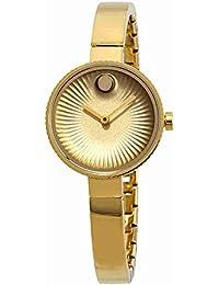 MOVADO WOMEN'S 28MM GOLD-TONE STEEL BRACELET & CASE QUARTZ WATCH 3680021