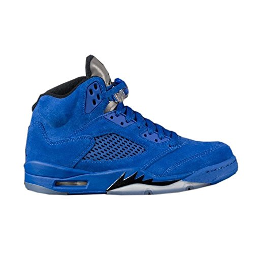Jordan Retro 8 Schuhe (Air Jordan 5 Retro Schuhe Sneaker Neu Men´s (EU 41 US 8 UK 7, GameRoyal/Black))
