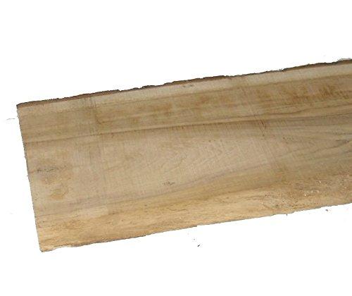 Rustikale Eichenbretter 30mm stark, unbesäumt Mindestbreite 15 cm verschiedene Längen wählbar. (60 cmlang)