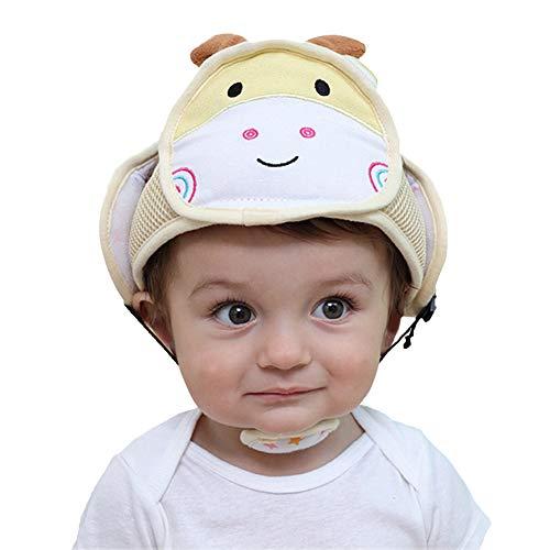 staunde Baby Einstellbare Schutzhelm Kleinkind Kopfschutz Hut Infant Soft Protector Schutzkappe Für Radfahren Gehen Krabbeln Für 6-72 Monate Kind -