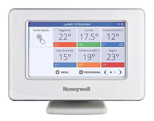 Honeywell Home Honeywell, THR99C3100, Evohome, Termostato, Dispositivo di Comando Centrale Wi-Fi, Bianco