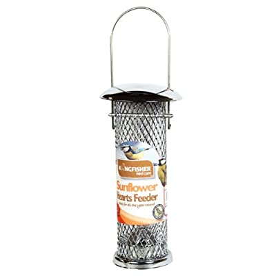 Kingfisher BF024 Deluxe Sunflower Seed Feeder by Bonnington Plastics Ltd