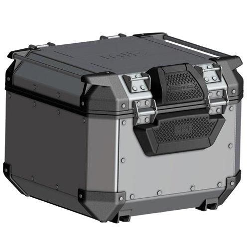 Givi E157 baul para moto con respaldo Aluminio Obk42A, Obk42B