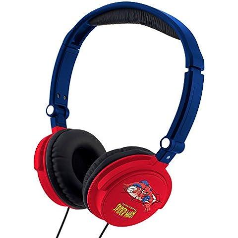 Spiderman - Auriculares estéreo, multicolor (Giros HP010SP)