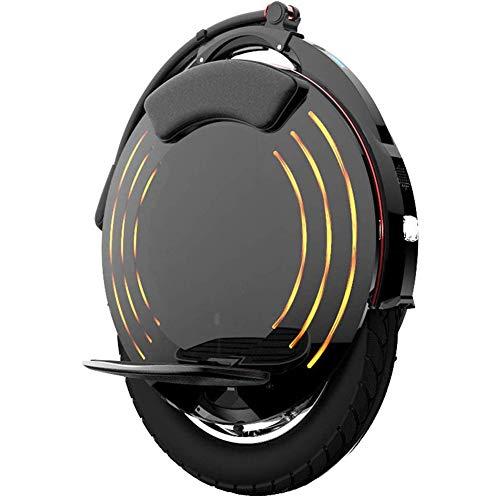LPsweet Elektro-Einrad, Gleichgewicht Auto High Fidelity Bluetooth Audio Mit LED-Licht, Erwachsene Off-Road Einrad Gleichgewicht Auto Outdoor Sport
