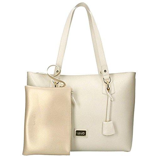LIU JO A18146 E0502 Shopping Donna Beige TU