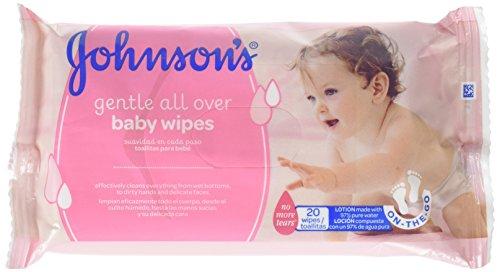 Johnson\'s baby - Toallitas para bebe suavidad en cada paso, 20 uds