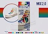 Shoeps Schnürsenkel Pastel Mix aus Silikon Neuheit 2015 Markenware