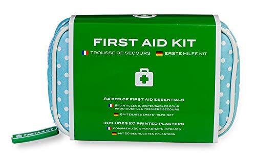 KIT DI PRONTO SOCCORSO PER OGNI EVENIENZA Con il nostro kit di primo soccorso, potrai far fronte a tutte quelle piccole emergenze che possono capitare nella vita di tutti i giorni. Grazie ai suoi 84 componenti, tutti di grado medico, potrai affrontar...
