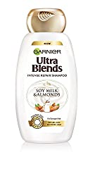 Garnier Ultra Blends Soy Milk and Almonds Shampoo, 340ml