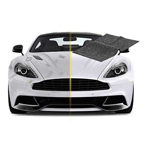 TOOGOO Car Scratch Remover, Auto Paint Scratch Remover, Nano-Tech Car  Scratch Repair Fix Car Scuffs Polishing Towel for Multicolor Car Surface (1