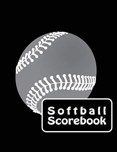 Softball Scorebook: Large Softball/ Baseball Scorebook: Side by Side Softball Scoring of 30 Games por Home Runner