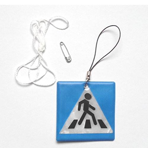 mebaretm-sidewalk-model-reflective-pendantreflective-keychain-for-visible-safety-dangled-on-bagmobil