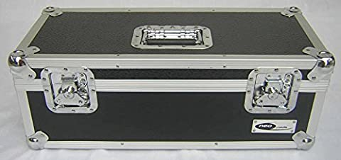 "7"" 45's Single Singles ALUMINIUM STORAGE STRONG CASE VINYL RECORD BLACK DJ TOUGH 300 Secure lockable Collectors Collection Box"