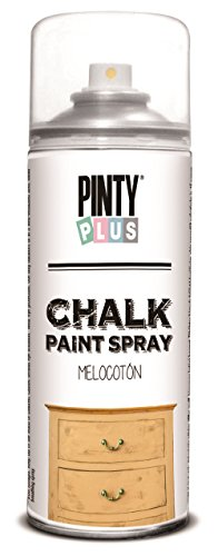 unique-chalk-paint-spray-water-based-shabby-chic-18-vintage-colours-400ml-peach