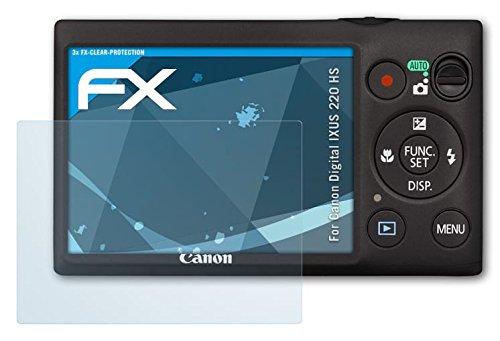 canon-digital-ixus-220-hs-powershot-elph-300-hs-schutzfolie-3-x-atfolix-fx-clear-kristallklare-folie