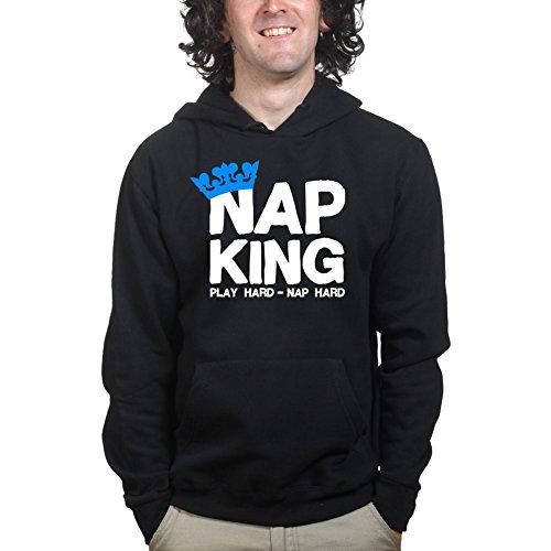 Nap Play Hard King Funny Uncle Si Dynasty Hoodie Hoody