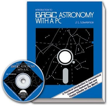 Introduction to Basic Astronomy With a Pc/Book and Disk by J. L. Lawrence (1989-05-02)
