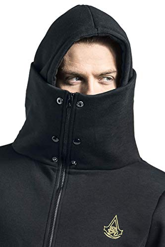 Assassin's Creed Origins – Symbol Kapuzenjacke schwarz XXL - 5