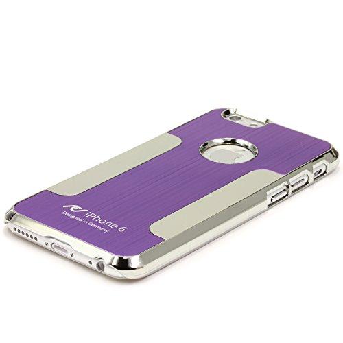 Original Urcover® Apple iPhone 6 Plus /6s Plus Aluminium Bumper ( 5.5 Zoll) Case Schutz Hülle [DEUTSCHER FACHHANDEL] Alu Metal Rahmen Cover iphone6 Lila Lila