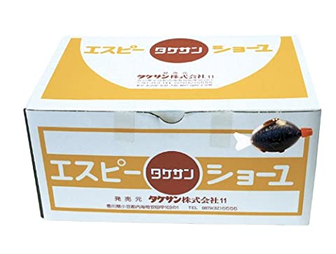 Takesan Sojasauce in Fischform , 1er Pack (1 x 200 Stück á 6 ml)