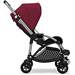 Bugaboo Bee5 Complete UK ALU/BLACK-RUBY RED