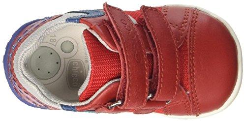 Chicco Gaspar, Sneakers Bébé Garçon Rouge (Rosso)