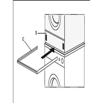 daniplus verbindungsrahmen aufbau rahmen f r waschmaschine trockner s ule. Black Bedroom Furniture Sets. Home Design Ideas