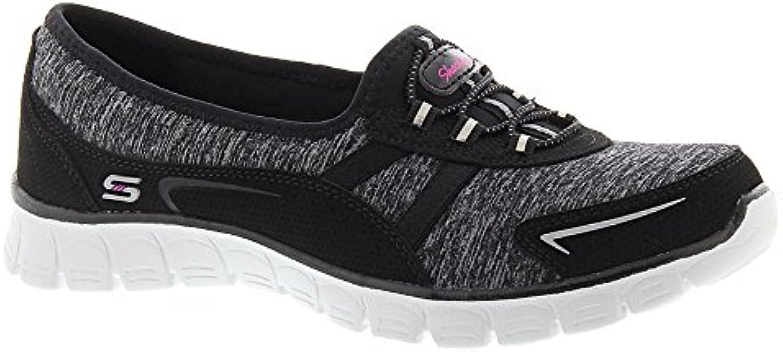 SKECHERS EZ Flex 3.0 da donna - scarpe da ginnastica Good Feel 'nero   grigio 7,5 B (M) | Aspetto estetico  | Uomo/Donne Scarpa