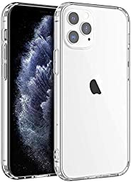 Shamo's Compatible with iPhone 12 Pro Max Case, Clear iPhone 12 Pro Max Cases Shockproof with TPU Silicone