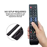Image of Myhgrc Replacement Remote Samsung Aa59 00581a Remote Control Fit Most Samsung 3d Lcd Led Smart Tv No Setup Required Tv Universal Remote Control